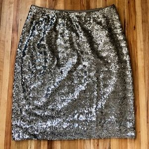 Banana Republic Heritage Collection sequin skirt